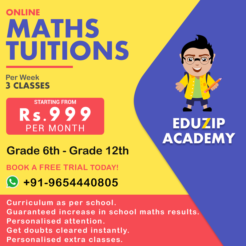 Online Maths Coaching with Eduzip Academy